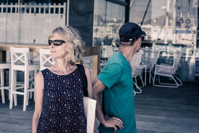 lanzarote#canarias#arrecife#citywalk#blondwoman#couple