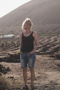 lanzarote#canaries#la geria#blond wife